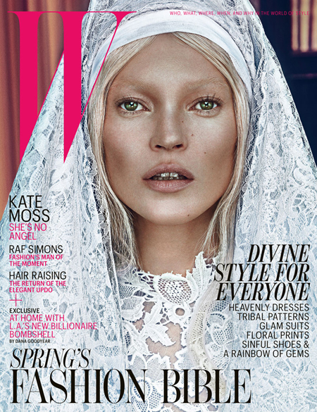 Kate-Moss-W-Magazine-cover