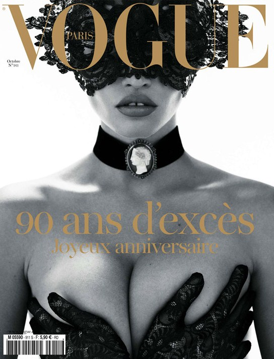 lara-stone-vogue-paris-90th-anniversary