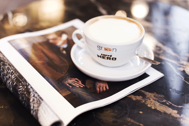 kawa w nero green coffee