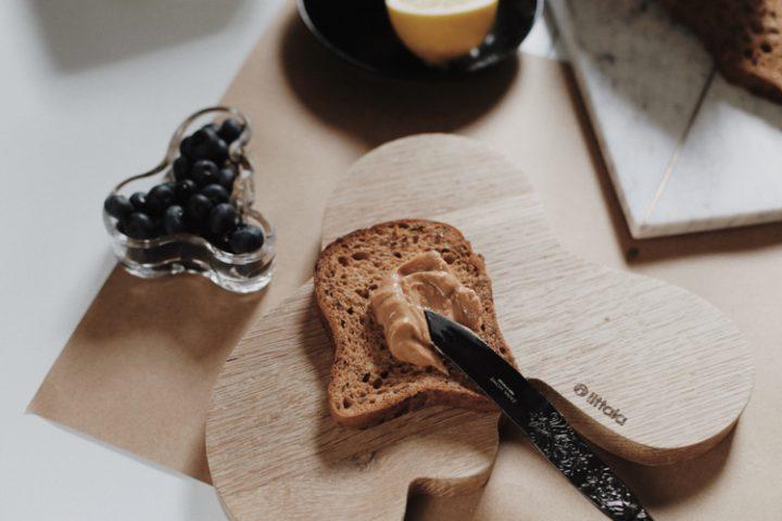 Piękne kanapki na śniadanie