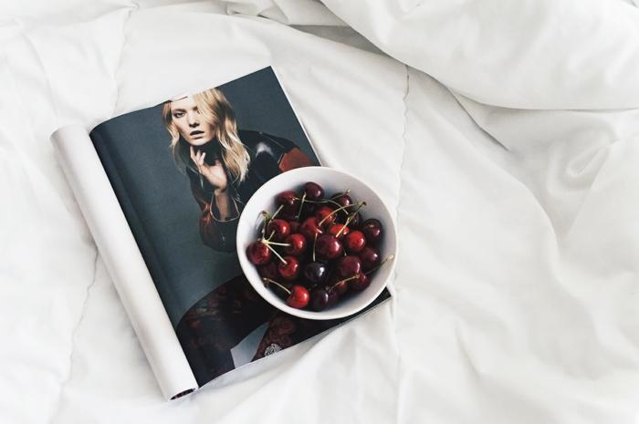 czereśnie, dlaczego warto jeść czereśnie?