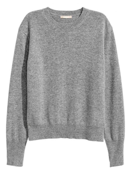 H&M Kaszmirowy sweter