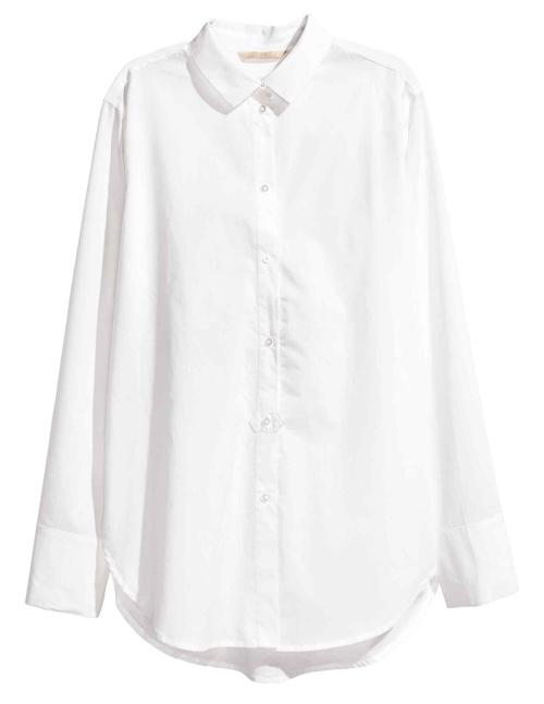 H&M Koszula z bawełny premium