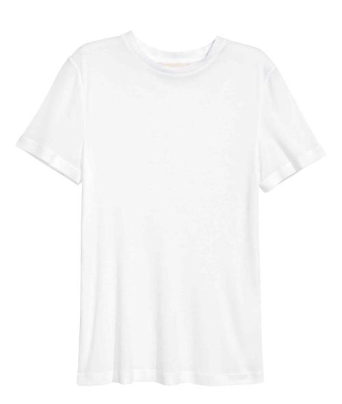 H&M biały top