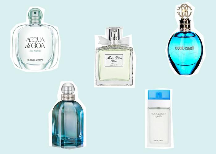 Jak wybrać perfumy idealne,  Zapachy cytrusowe, świeże, wodne, szyprowe.
