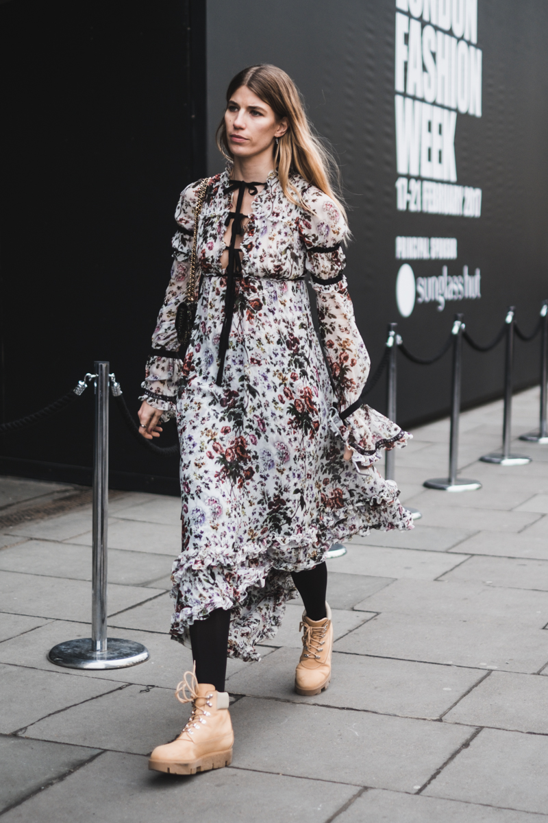 London Fashion Week day 4, Veronika Heilbrunner