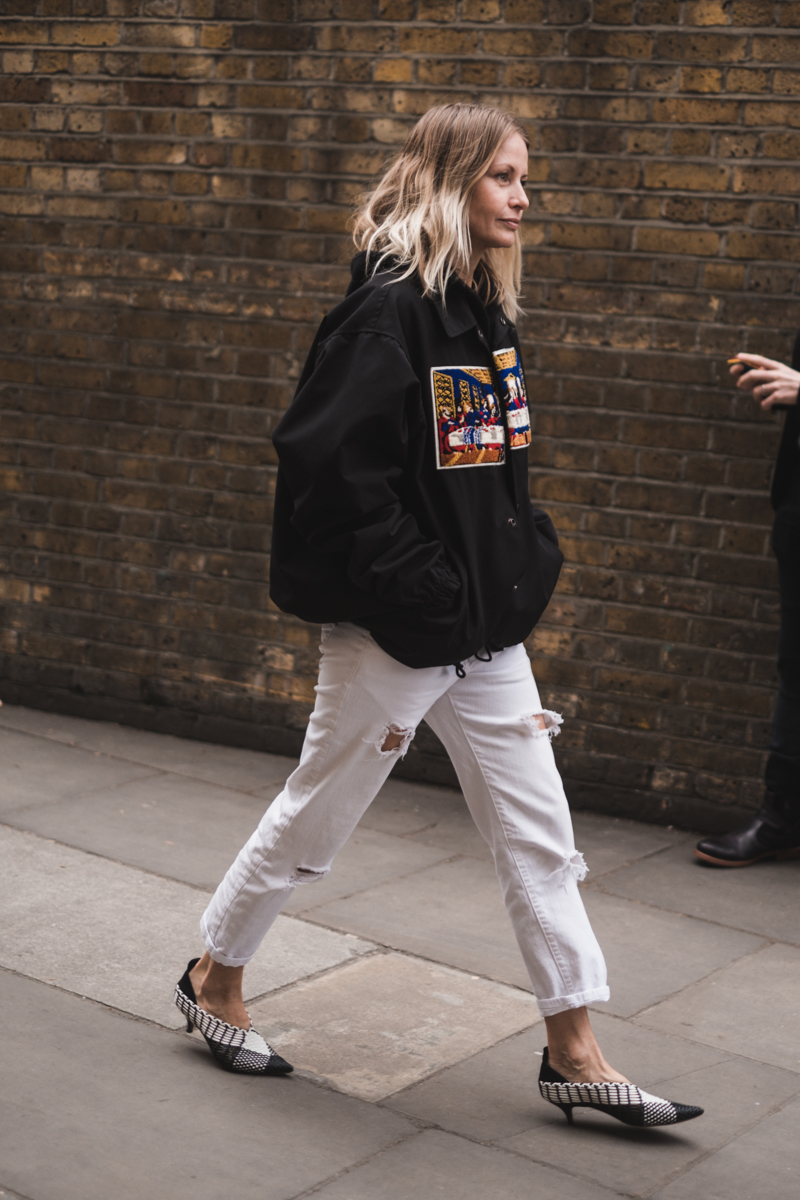 London Fashion Week Day 3, Holli Rogers