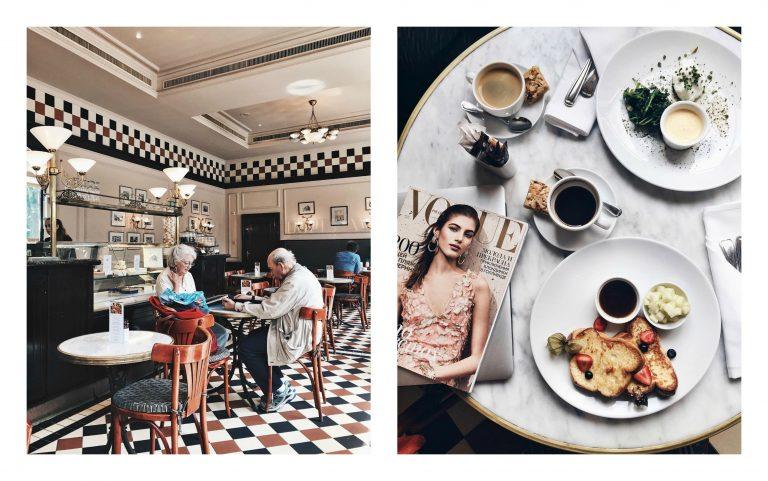 najbardziej instagramowe miejsca 2increatives, bristol cafe warszawa