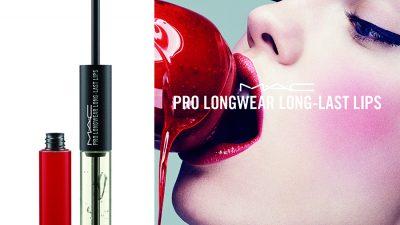 Błyszczące i ponętne usta dzięki Prologwear Last Lips od M∙A∙C Cosmetics