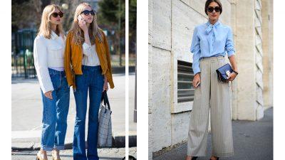 10 sposobów na szerokie spodnie