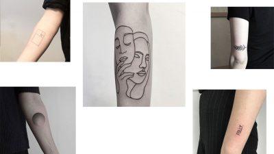 5 tatuatorów, u których zrobisz minimalistyczne tatuaże