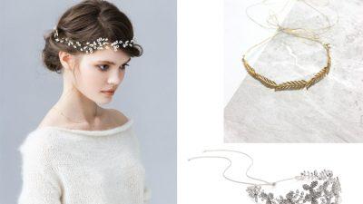 Romantyczne ozdoby do włosów dla panny młodej