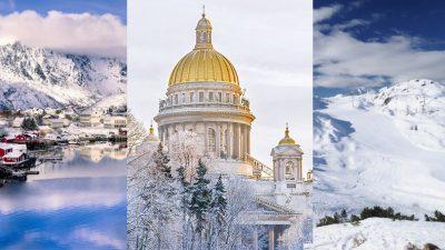 Najpiękniejsze miejsca na zimowy wypad