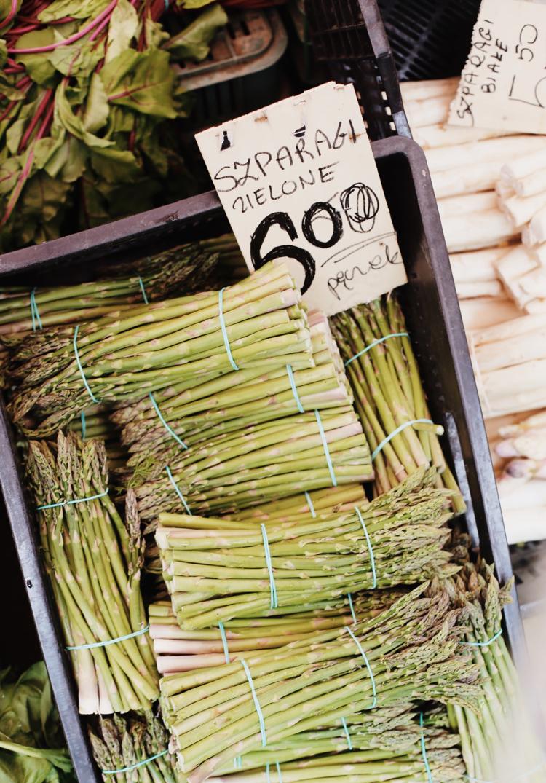 Dlaczego warto jeść szparagi, zielone szparagi