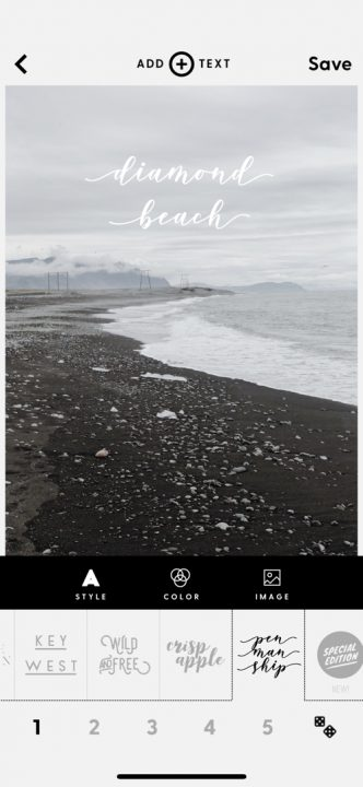 Aplikacje do obróbki zdjęć na Insta Stories, WORD SWAG