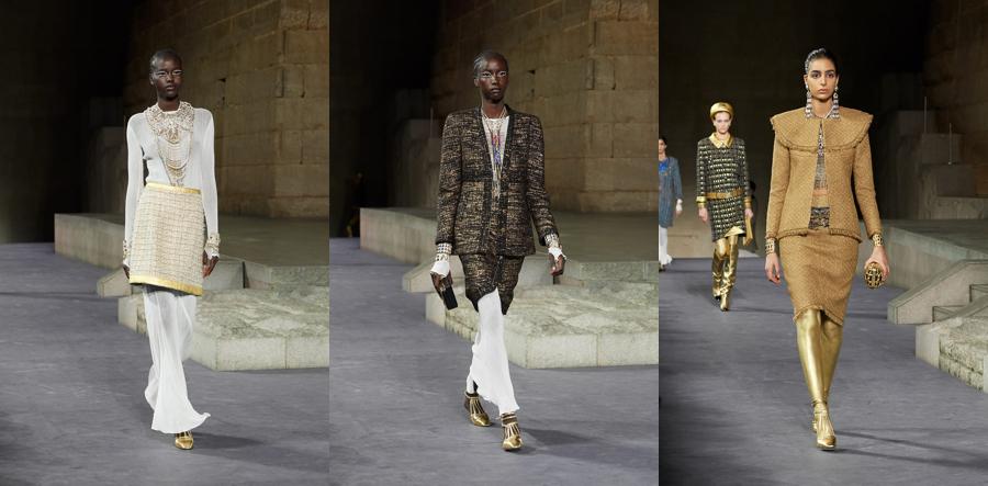 pokaz Chanel w Nowym Jorku, Chanel pokaz, chanel wiosna 2019, trendy na wiosnę 2019