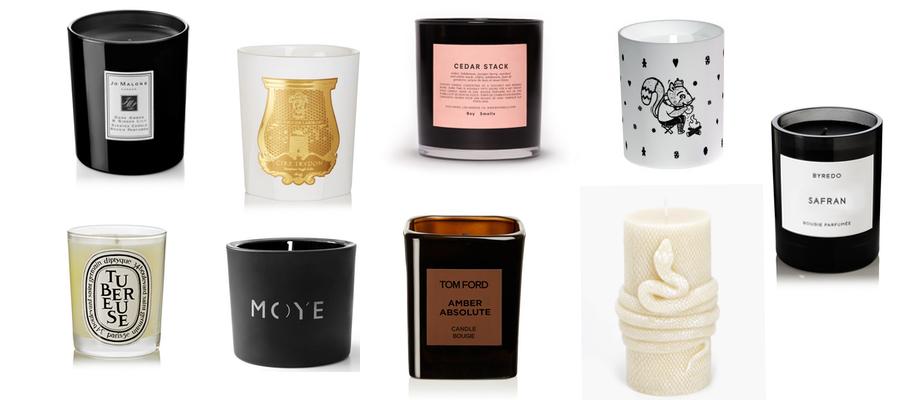 najpiękniejsze aromatyczne świece