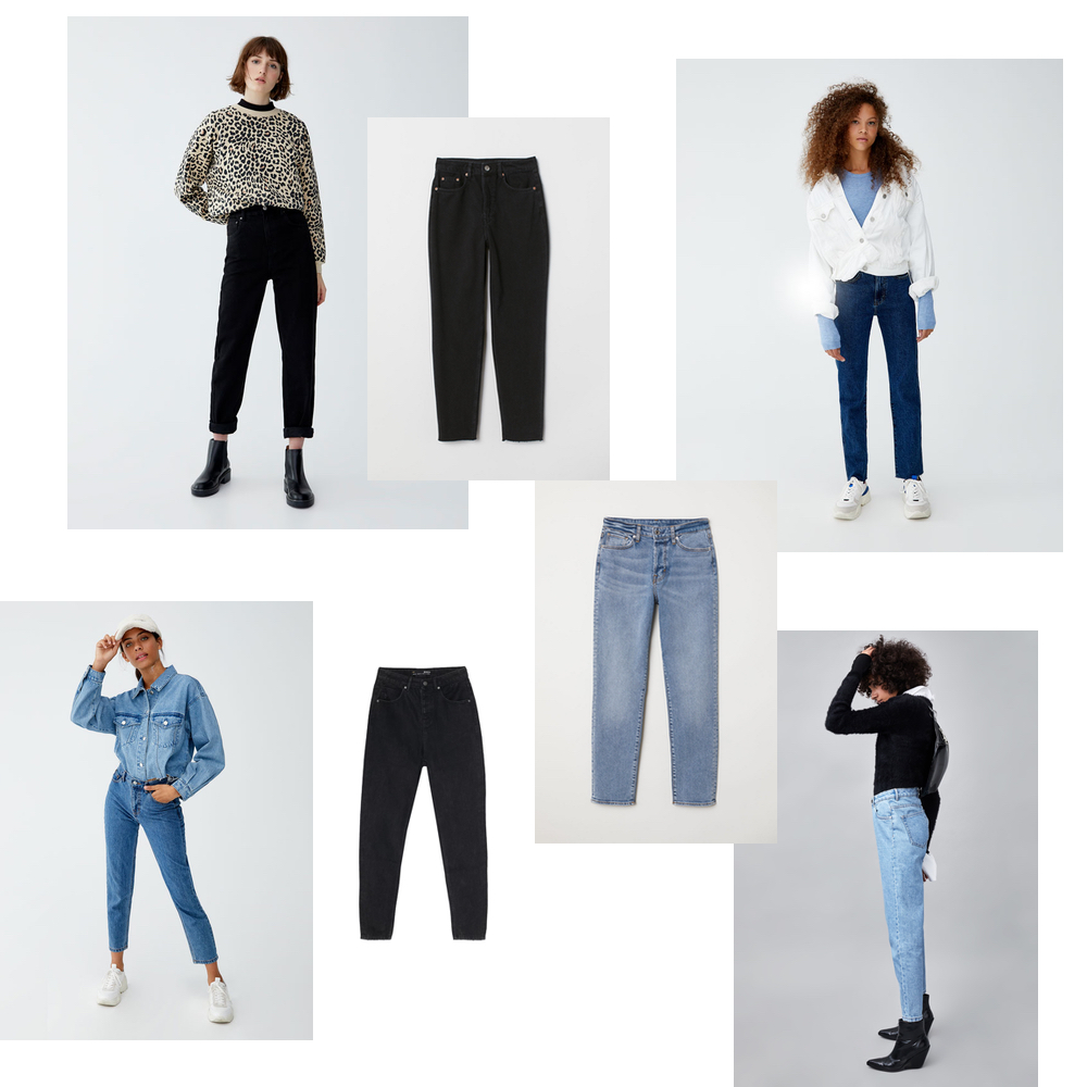 mom fit dzinsy gdzie kupoc, jeans mom fit