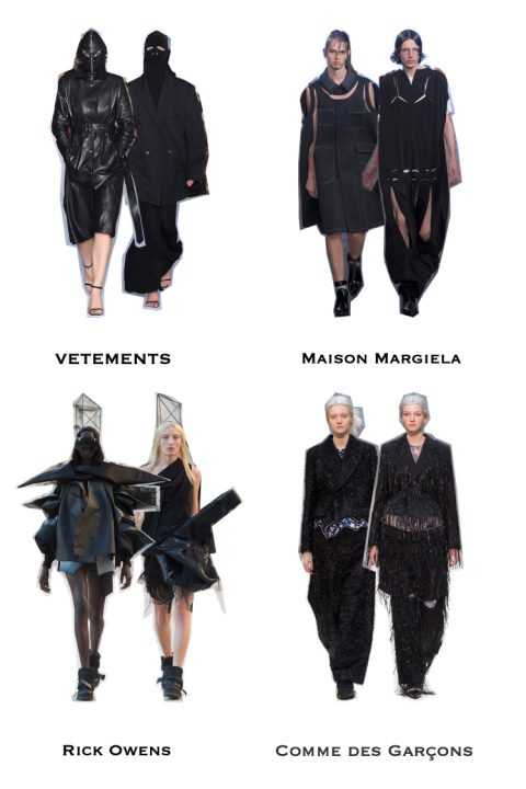 trendy na wiosnę lato 2019, czarny kolor moda, trendy czarny kolor