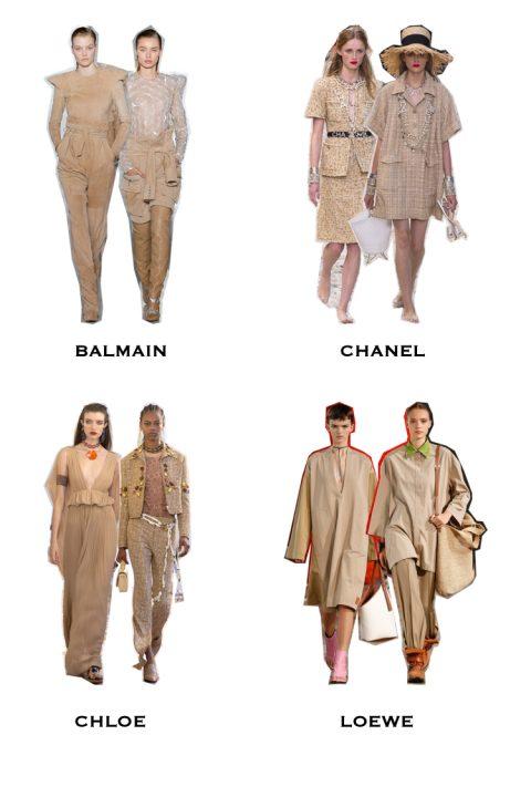 trendy 2019, kolor nude trendy, trendy na wiosnę, moda 2019