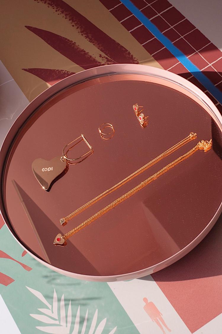 biżuteria KOPI, kolczyki KOPI, naszyjnik KOPI