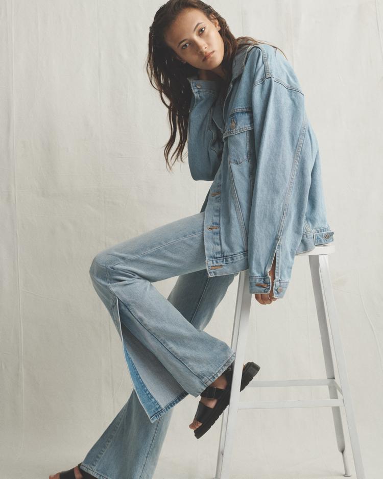 dzinsy z wysokiem stanem, Nowe Levi's® Ribcage jeans
