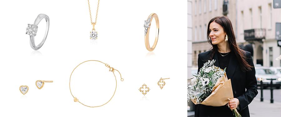 Najlepszy prezent na Walentynki, biżuteria na Walentynki, biżuteria W.Kruk, kolczyki W.Kruk