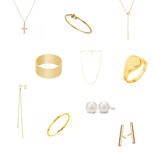 złoty pierścionek, złote kolczyki, Apart pierścionek, sygnet pierścionek