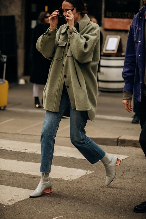 Milan Fashion Week, Levis jeans