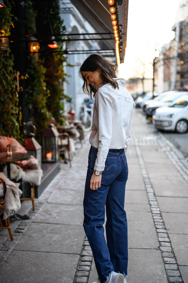 Cecilie Haugaard, Levis jeans