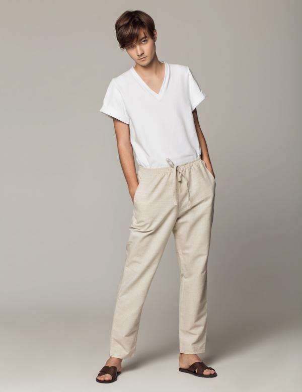 lniane spodnie SOVL