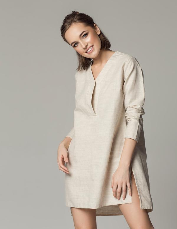 sukienka lniana SOVL
