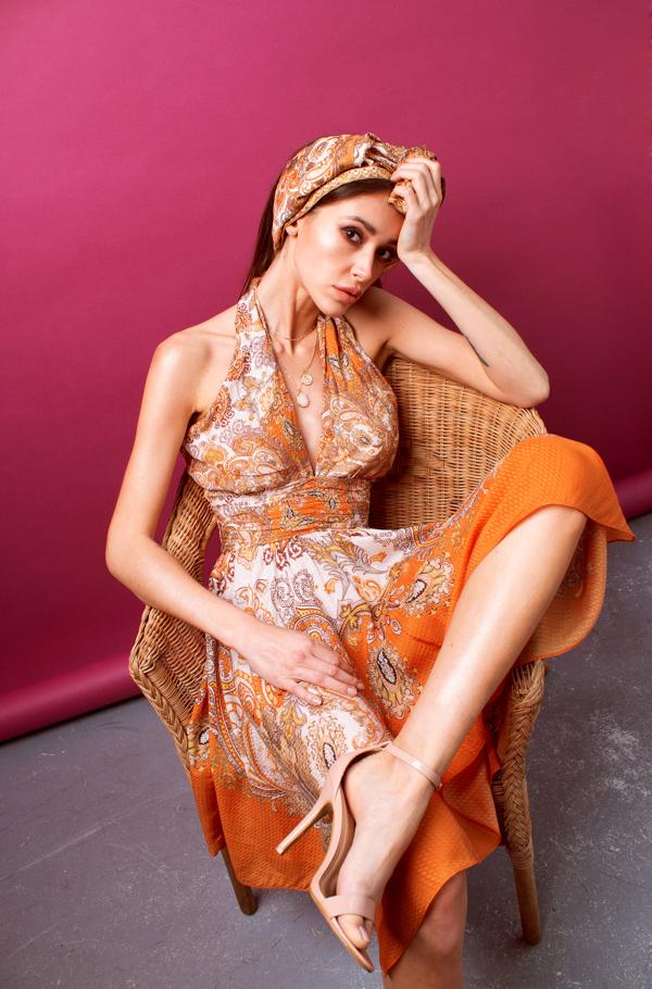 kolorowa sukienka, SZAFA PEŁNA KOLORÓW NA WIOSNĘ 2019