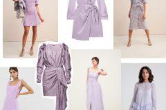 Trend na wiosnę 2019 – liliowe sukienki v