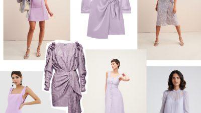 Trend na wiosnę 2019 – liliowe sukienki