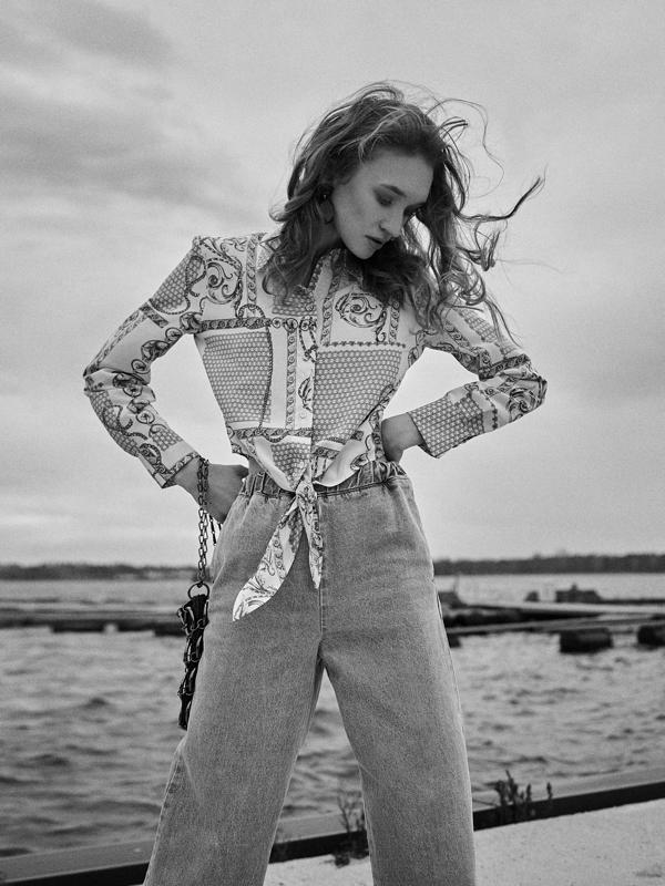 Fotograf Łukasz Bartyzel, Stylistka mody Ilona Jaworska, marynarskie trendy 2019