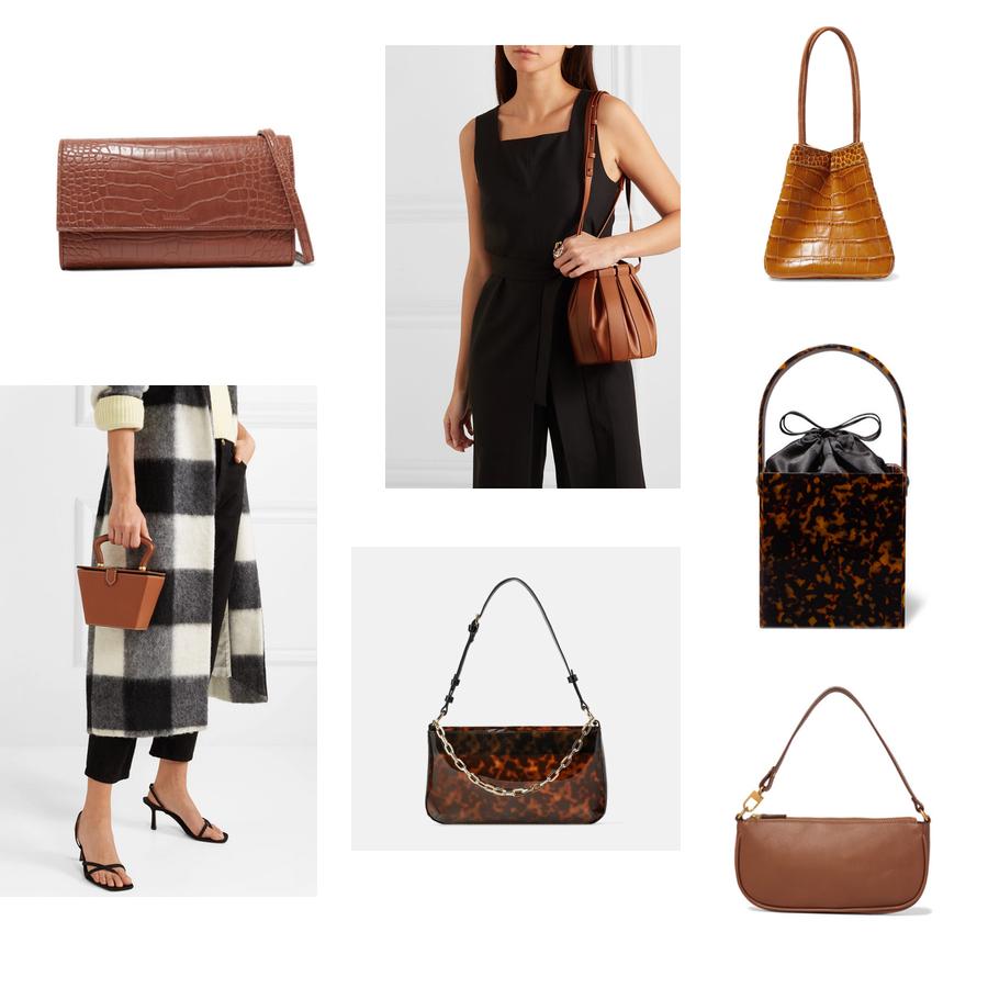 torba na wiosnę: NANUSHKA, LOW CLASSIC, REJINA PYO, STAUD, Zara, MONTUNAS, BY FAR