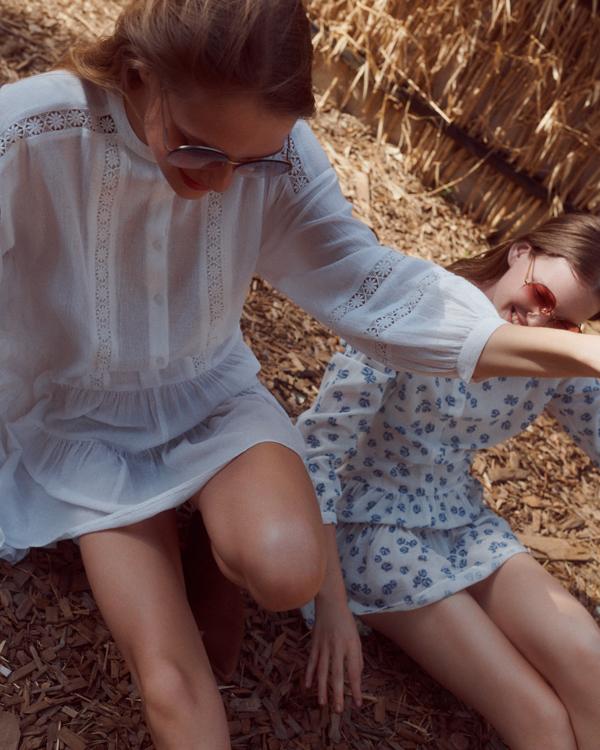 Nowa kolekcja EDITED Summer Dreaming, biała boho sukienka
