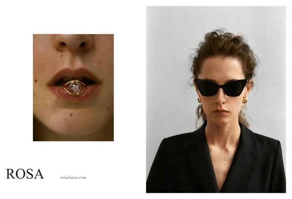 biżuteria Rosa Gold Chains