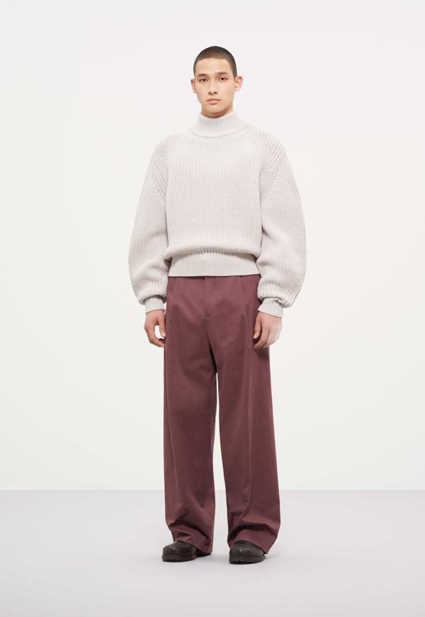 płaszcz COS, overside płaszcz, ubrania COS, sweater COS