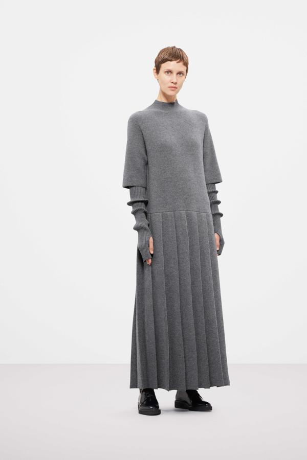 płaszcz COS, overside płaszcz, ubrania COS, sukienka COS