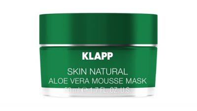 Aloe Vera Mousse Mask od marki KLAPP Cosmetics