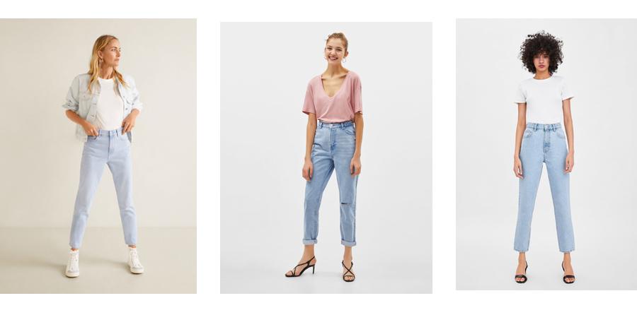 MOM FIT – GDZIE ZNALEŹĆ, jeansy mom fit gdzie kupić,