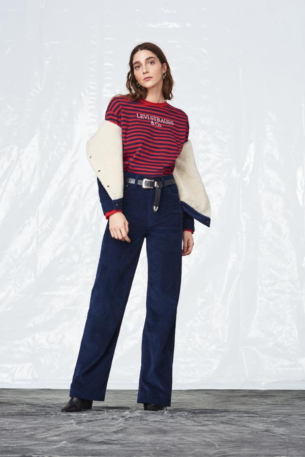 jeansy z wysokiem staniem Levis