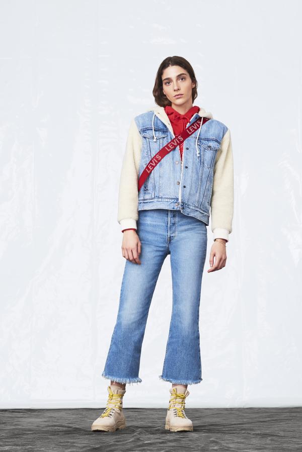 Nowe modele spodni Levi's® z wysokim stanem