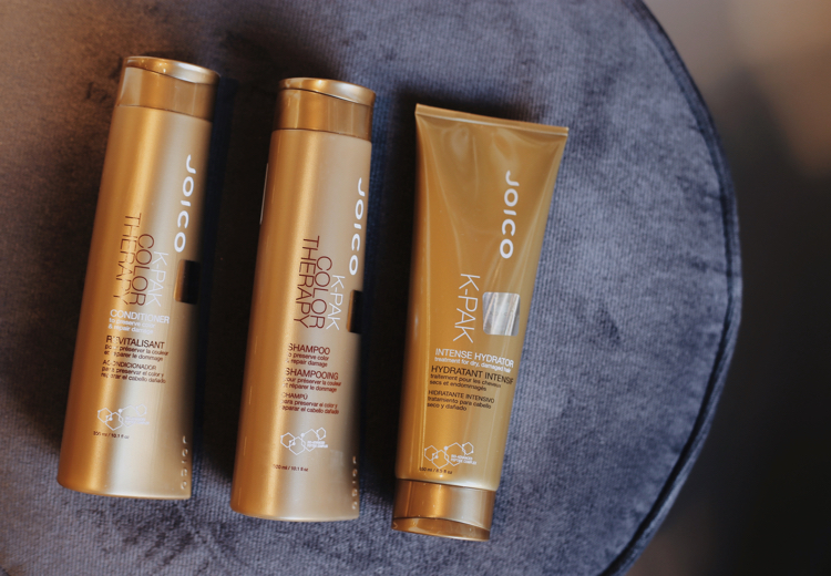 Joico K-Pak szampon, odżywka i maska - Intense Hydrator.