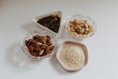 Orzechy, nasiona, pestki