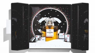 Świąteczna edycja kolekcji Chanel N°5