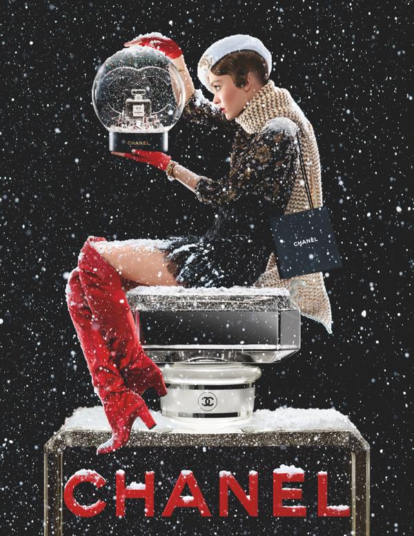 Twarzą zapachu N°5 L'Eau została młoda ambasadorka Chanel - Lily-Rose Depp.