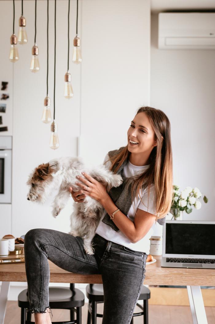 Katarzyna Kander – Wojnicka i pies